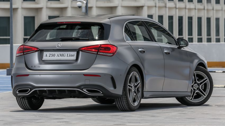 W177 Mercedes-Benz A-Class launched in Malaysia – A200 Progressive Line, A250 AMG Line, from RM228k Image #874752