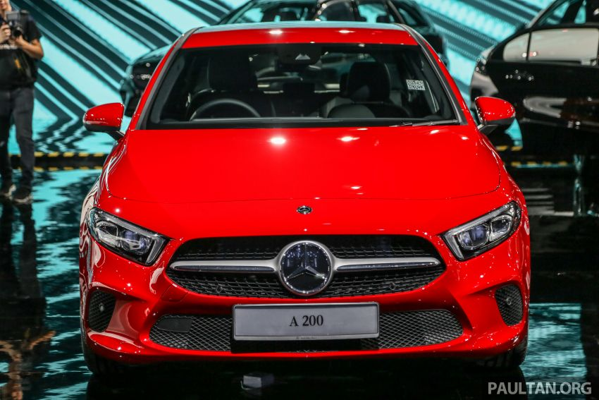 W177 Mercedes-Benz A-Class launched in Malaysia – A200 Progressive Line, A250 AMG Line, from RM228k Image #875218