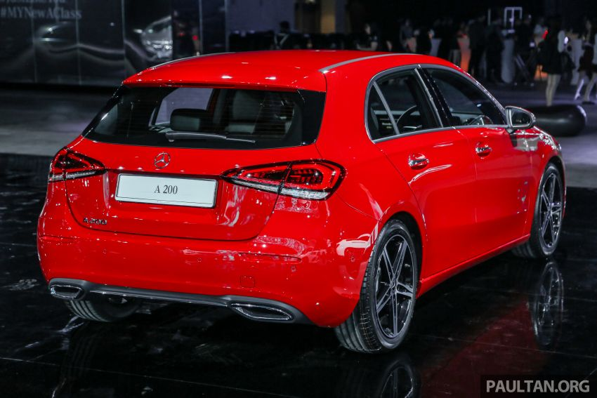 W177 Mercedes-Benz A-Class launched in Malaysia – A200 Progressive Line, A250 AMG Line, from RM228k Image #875221