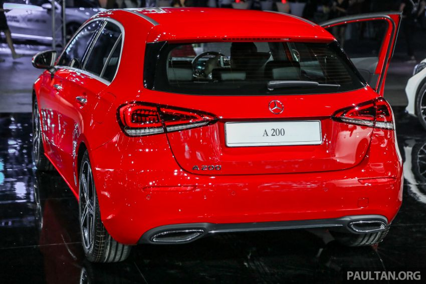 W177 Mercedes-Benz A-Class launched in Malaysia – A200 Progressive Line, A250 AMG Line, from RM228k Image #875222