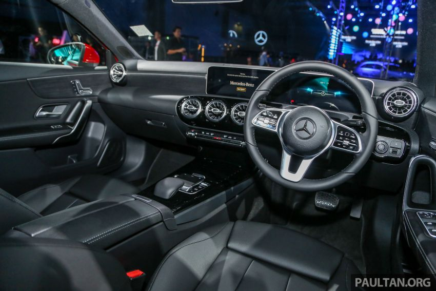 W177 Mercedes-Benz A-Class launched in Malaysia – A200 Progressive Line, A250 AMG Line, from RM228k Image #875252