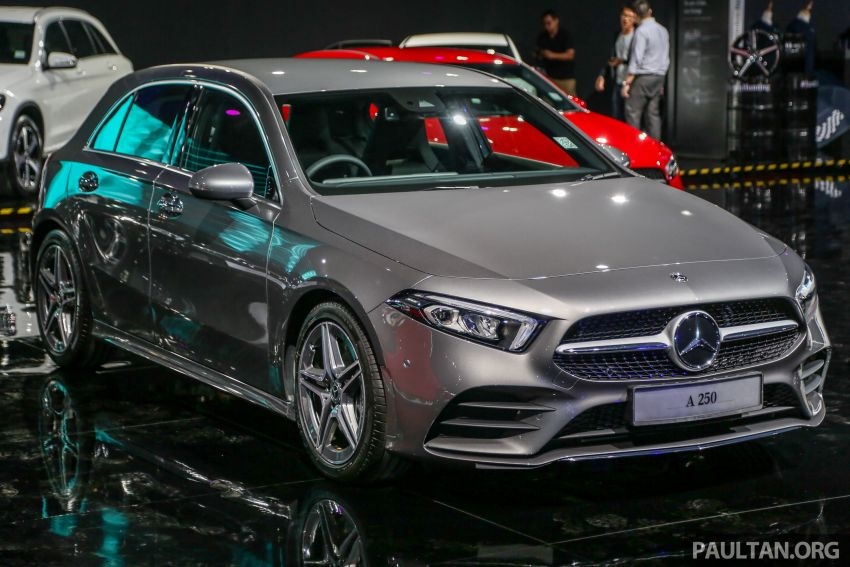 W177 Mercedes-Benz A-Class launched in Malaysia – A200 Progressive Line, A250 AMG Line, from RM228k Image #875269