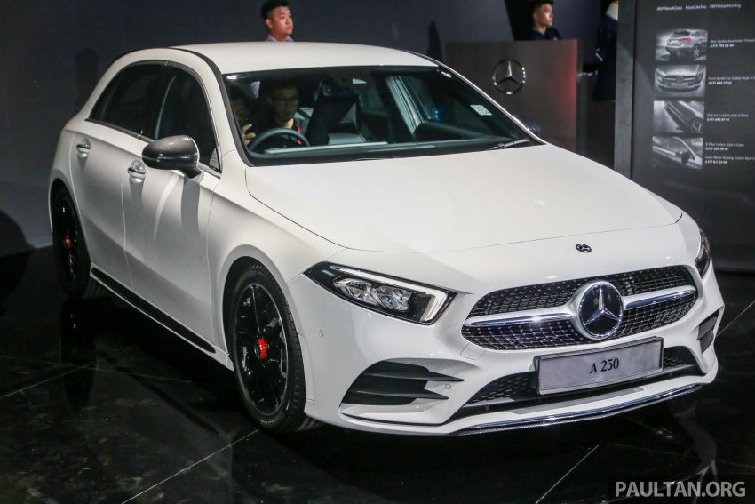 W177 Mercedes-Benz A-Class launched in Malaysia – A200 Progressive Line, A250 AMG Line, from RM228k Image #875325