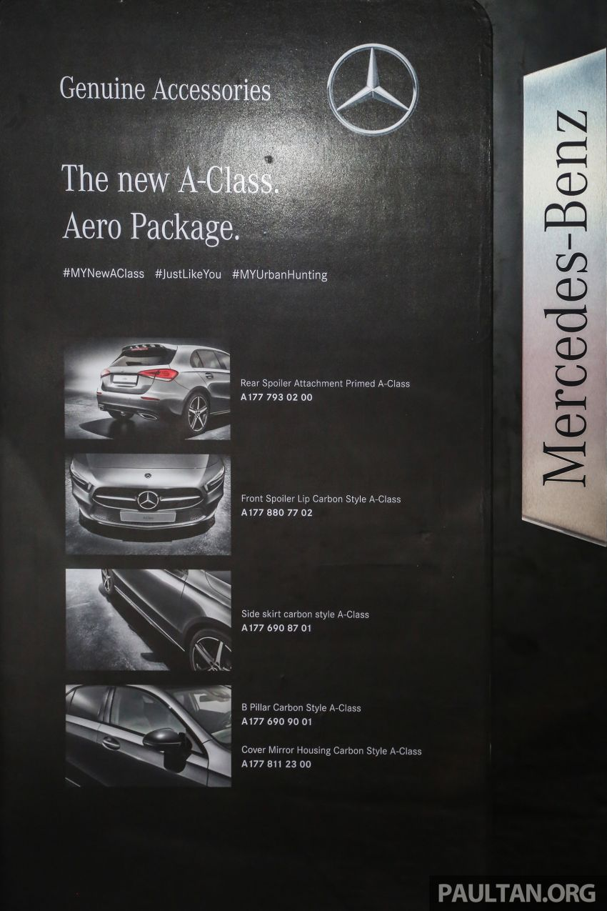W177 Mercedes-Benz A-Class launched in Malaysia – A200 Progressive Line, A250 AMG Line, from RM228k Image #875335