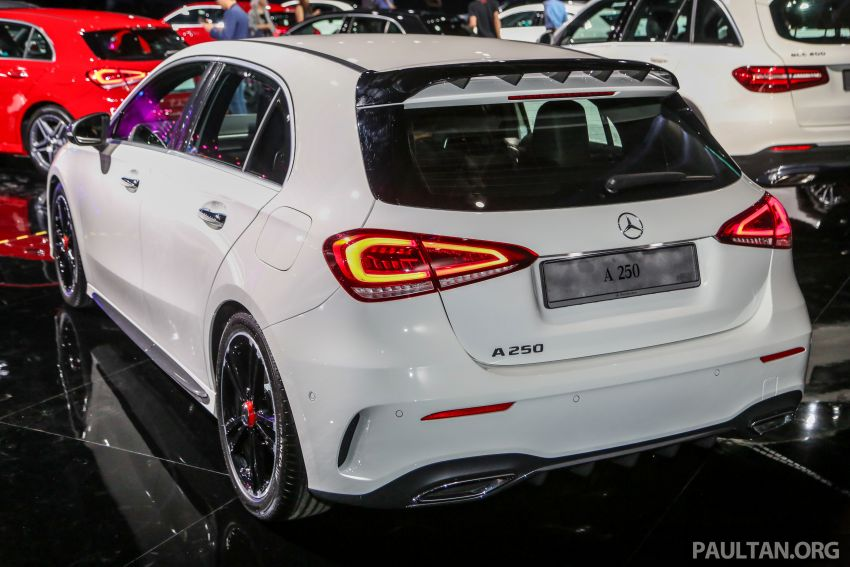 W177 Mercedes-Benz A-Class launched in Malaysia – A200 Progressive Line, A250 AMG Line, from RM228k Image #875326