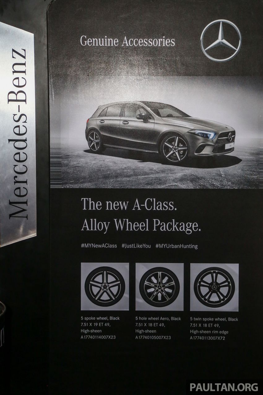 W177 Mercedes-Benz A-Class launched in Malaysia – A200 Progressive Line, A250 AMG Line, from RM228k Image #875334