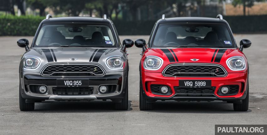 FIRST DRIVE: F60 MINI Cooper S E Countryman All4 and Cooper S Countryman Sports – which is better? Image #866826