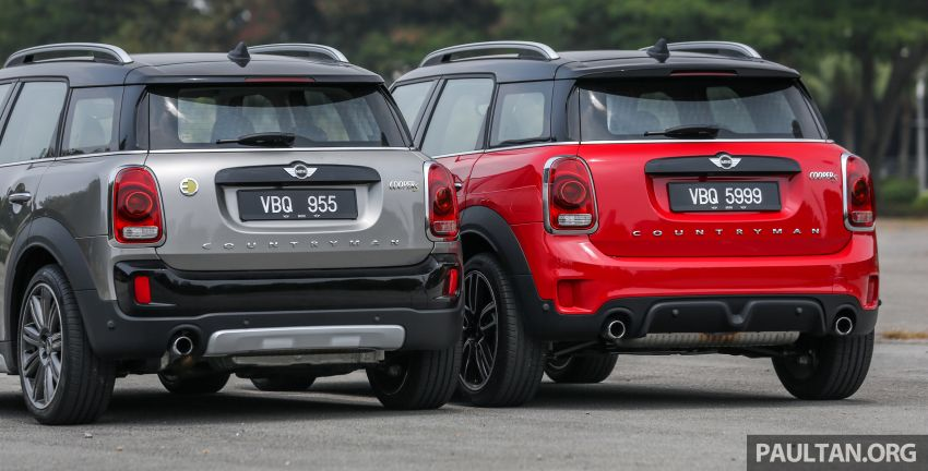 FIRST DRIVE: F60 MINI Cooper S E Countryman All4 and Cooper S Countryman Sports – which is better? Image #866835