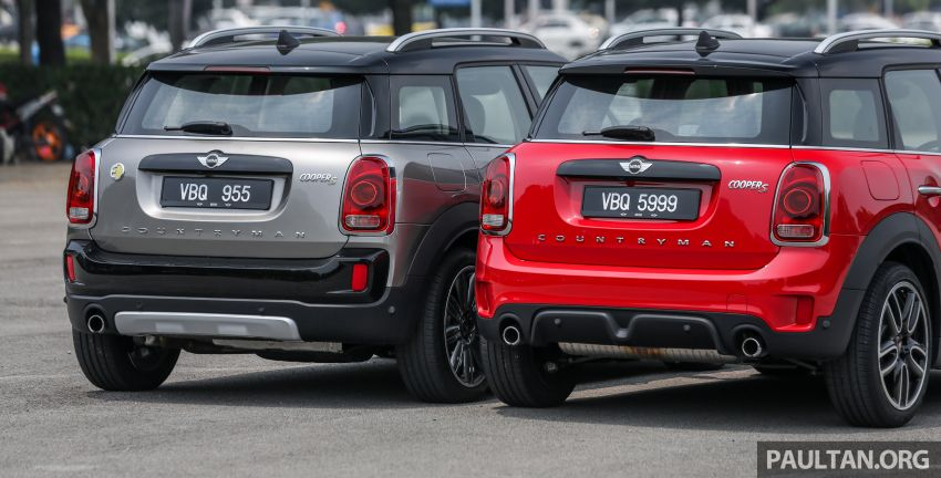 FIRST DRIVE: F60 MINI Cooper S E Countryman All4 and Cooper S Countryman Sports – which is better? Image #866836