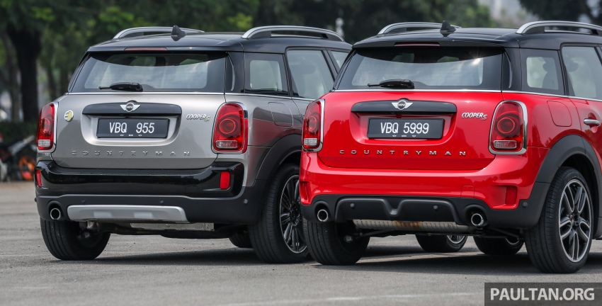 FIRST DRIVE: F60 MINI Cooper S E Countryman All4 and Cooper S Countryman Sports – which is better? Image #866837