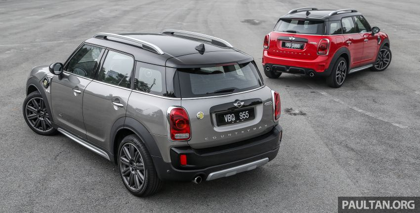 FIRST DRIVE: F60 MINI Cooper S E Countryman All4 and Cooper S Countryman Sports – which is better? Image #866839
