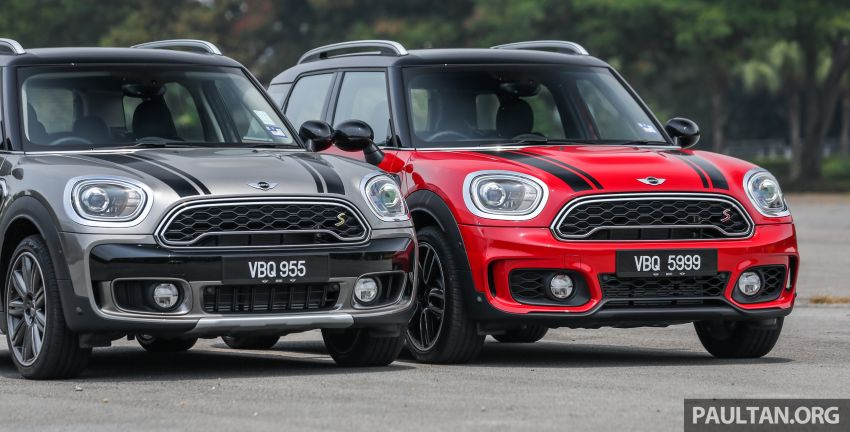 FIRST DRIVE: F60 MINI Cooper S E Countryman All4 and Cooper S Countryman Sports – which is better? Image #866829