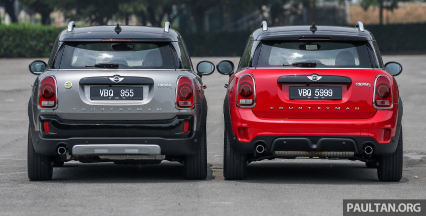 FIRST DRIVE: F60 MINI Cooper S E Countryman All4 and Cooper S Countryman Sports – which is better? Image #866832