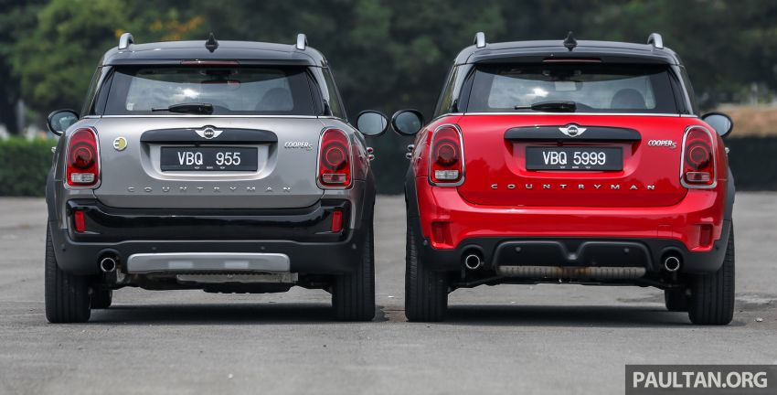 FIRST DRIVE: F60 MINI Cooper S E Countryman All4 and Cooper S Countryman Sports – which is better? Image #866833