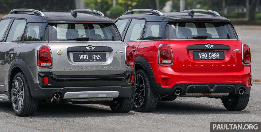 FIRST DRIVE: F60 MINI Cooper S E Countryman All4 and Cooper S Countryman Sports – which is better? Image #866834