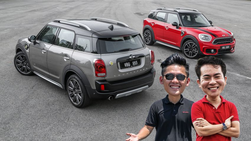 FIRST DRIVE: F60 MINI Cooper S E Countryman All4 and Cooper S Countryman Sports – which is better? Image #866724