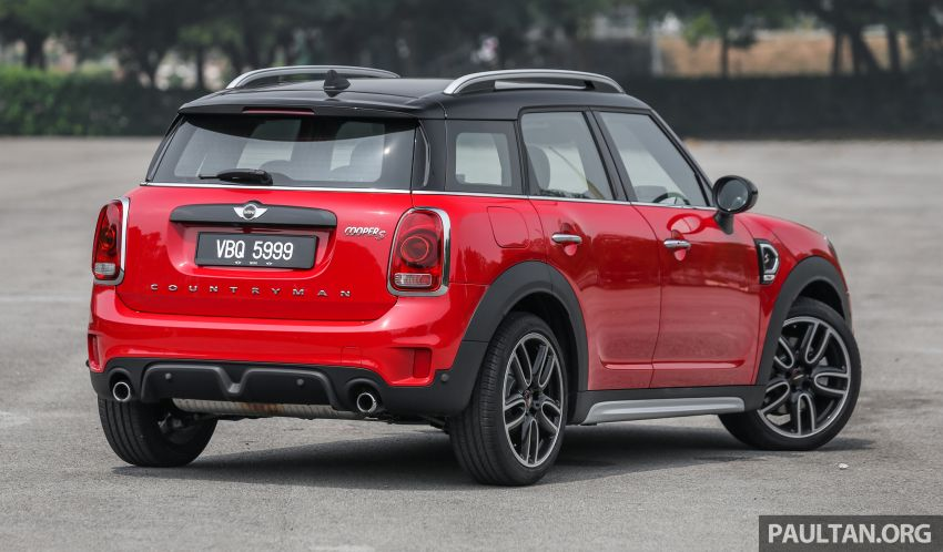 FIRST DRIVE: F60 MINI Cooper S E Countryman All4 and Cooper S Countryman Sports – which is better? Image #866928