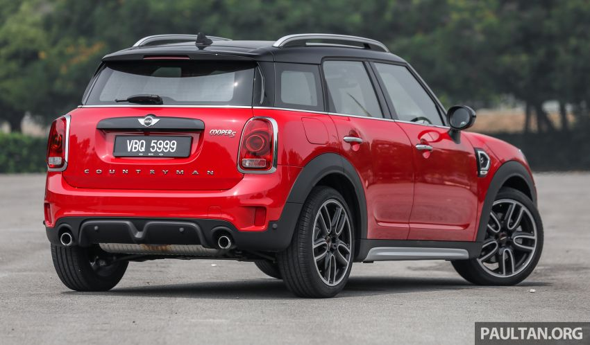 FIRST DRIVE: F60 MINI Cooper S E Countryman All4 and Cooper S Countryman Sports – which is better? Image #866929