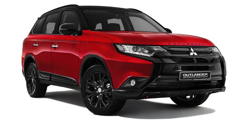 Mitsubishi Outlander Sports Edition launched in Malaysia – limited to 120 units, priced from RM143k Image #871416