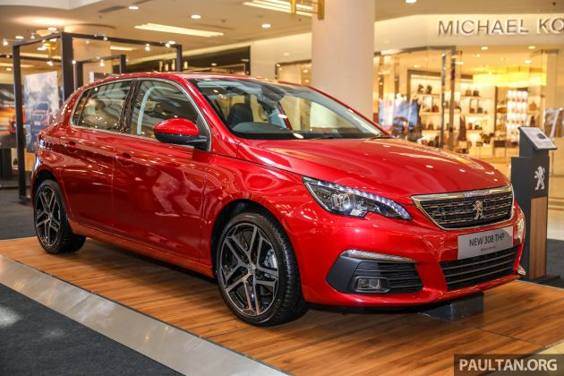 Peugeot 308 facelift introduced in Malaysia – RM130k