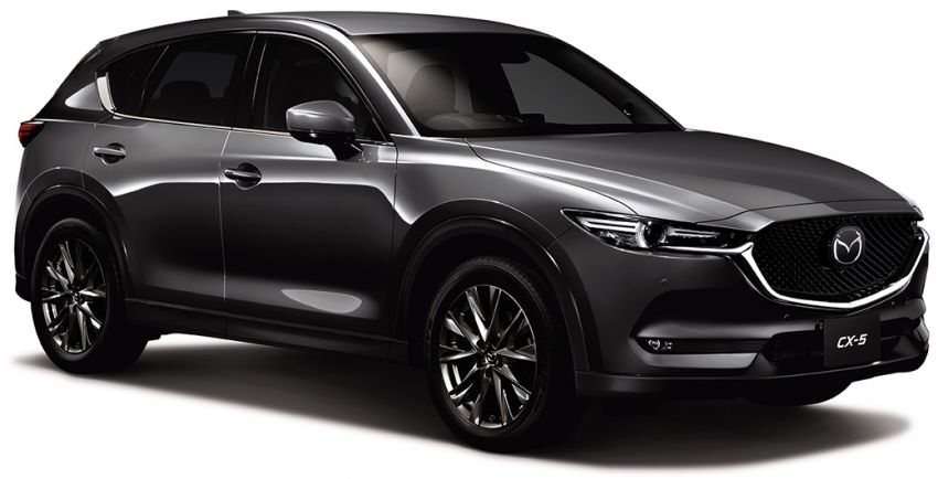 2019 Mazda CX-5 launched in Japan – new 2.5L turbo, G-Vectoring Control Plus, nighttime pedestrian AEB Image #872176