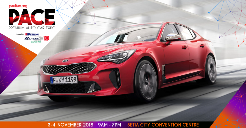 <em>paultan.org</em> PACE 2018 – check out the Kia Stinger with 365 hp 3.3 litre twin-turbo V6 and rear-wheel drive! Image #875561