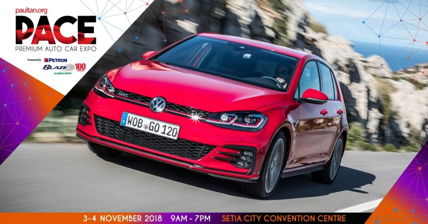 <em>paultan.org</em> PACE 2018 – book any Volkswagen model at the event and enjoy a RM2k petrol rebate Image #876495