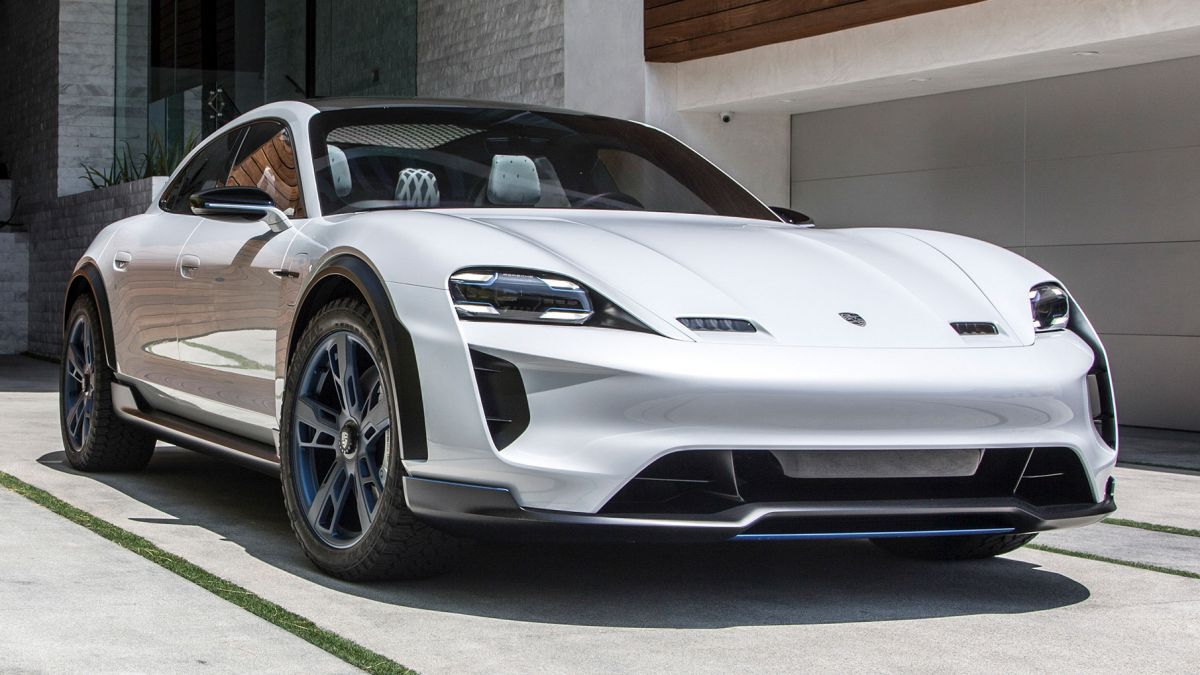 porsche mission e cross turismo production confirmed for all electric jacked up taycan wagon