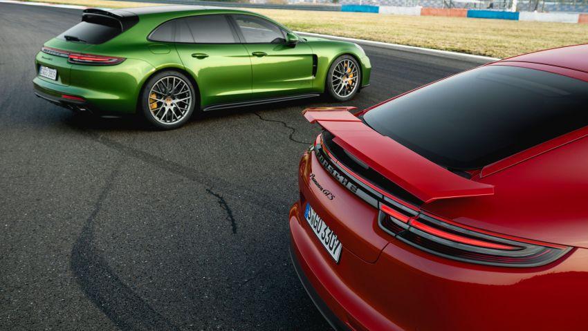 Porsche Panamera GTS dan Panamera Sport Turismo GTS – 4.0 liter V8, dua pengecas turbo, 460 hp/620 Nm! Image #873804