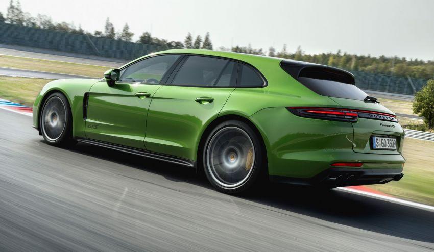 Porsche Panamera GTS dan Panamera Sport Turismo GTS – 4.0 liter V8, dua pengecas turbo, 460 hp/620 Nm! Image #873810