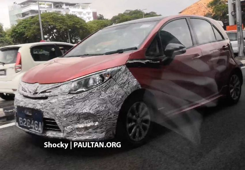 SPYSHOTS: Proton Iriz facelift caught in downtown KL Image #871475
