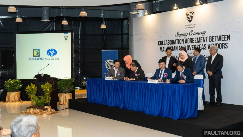 Proton vendors to collaborate with Chinese companies for X70 production – RM170 million initial investment Image #871910