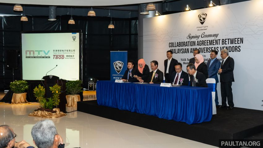 Proton vendors to collaborate with Chinese companies for X70 production – RM170 million initial investment Image #871915