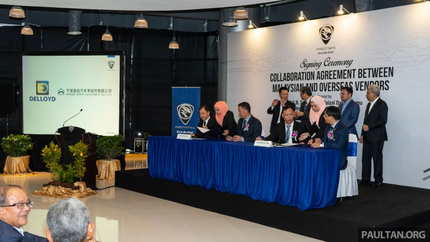 Proton vendors to collaborate with Chinese companies for X70 production – RM170 million initial investment Image #871917