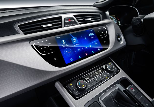 Proton X70 GKUI Android-based infotainment system detailed