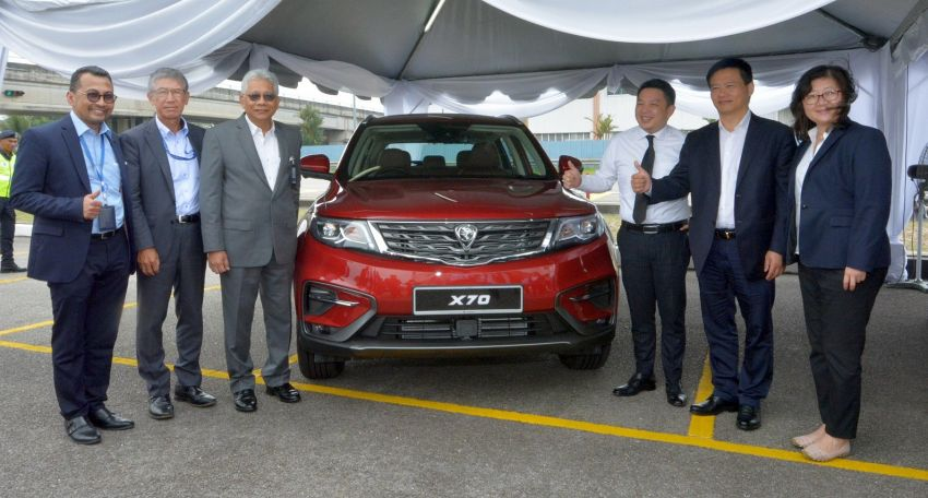 Proton X70 – SUV's official launch set for November Image #867079