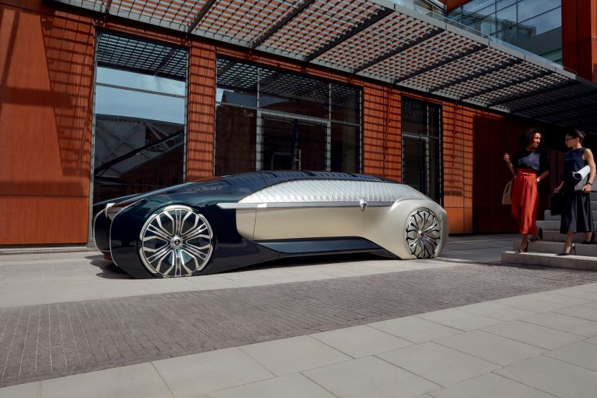 Renault EZ-ULTIMO – an autonomous mobile lounge Image #868541