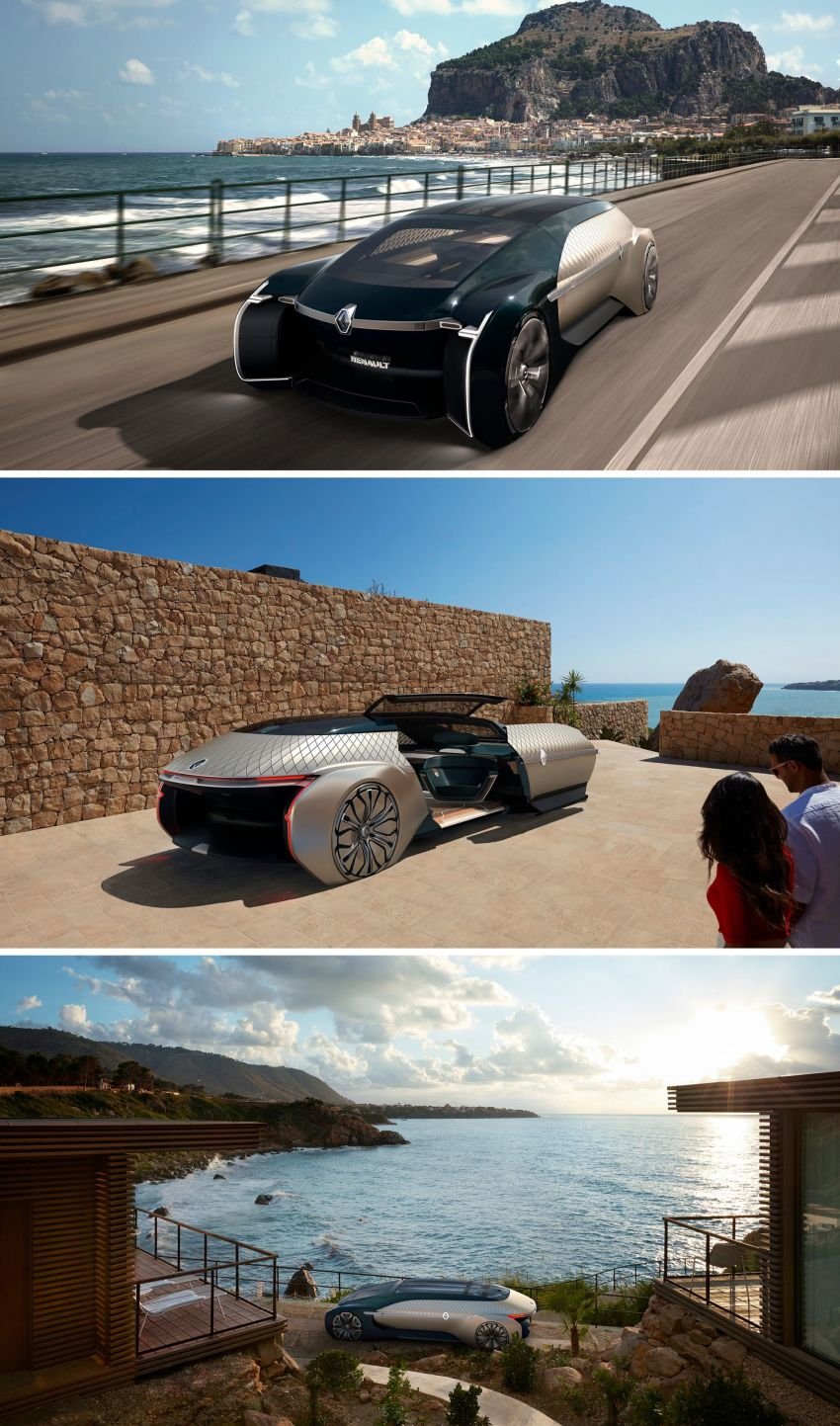 Renault EZ-ULTIMO – an autonomous mobile lounge Image #868564