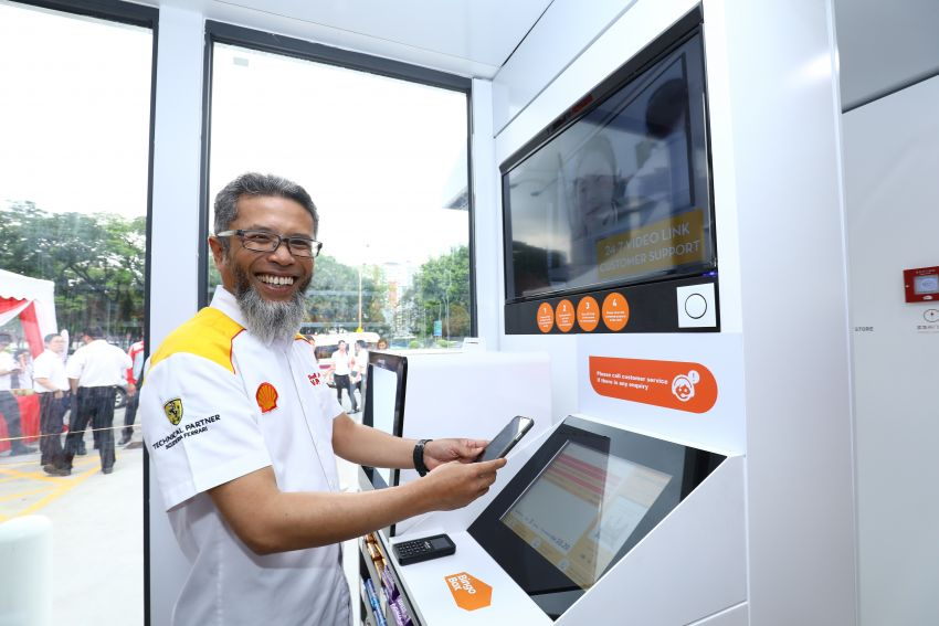 Shell Malaysia launches first Select retail outlet in Malaysia powered by BingoBox Retail Technology Image #876027