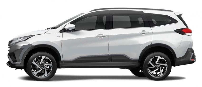 Toyota Rush 2018 rasmi dilancarkan di Malaysia – 7-tempat duduk, 1.5L, dua varian, harga RM93k-RM98k Image #874530