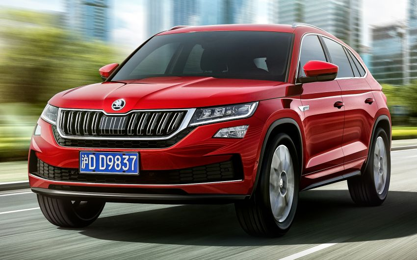 Skoda Kodiaq GT – China-only SUV coupe debuts Image #874442