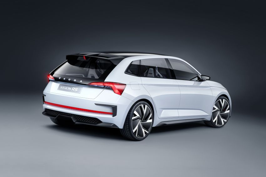 Skoda Vision RS concept – 245 hp, 70 km EV range Image #867159