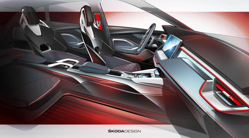 Skoda Vision RS concept – 245 hp, 70 km EV range Image #867162