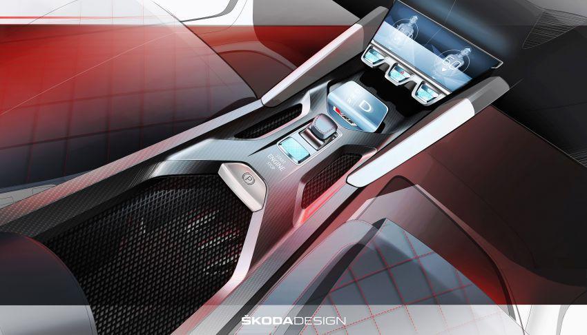 Skoda Vision RS concept – 245 hp, 70 km EV range Image #867163