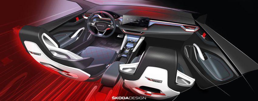 Skoda Vision RS concept – 245 hp, 70 km EV range Image #867164