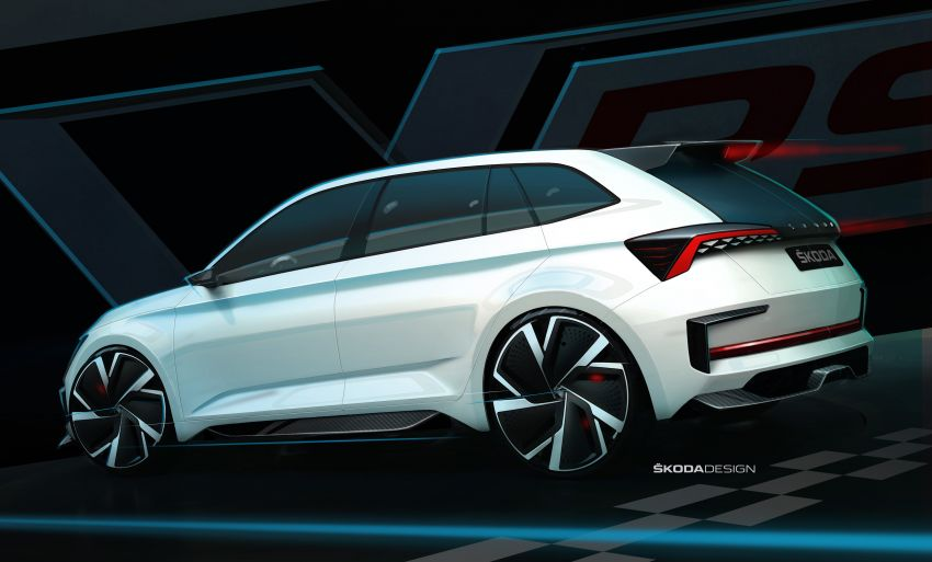 Skoda Vision RS concept – 245 hp, 70 km EV range Image #866815