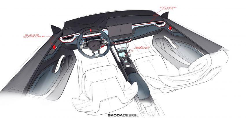 Skoda Vision RS concept – 245 hp, 70 km EV range Image #866817