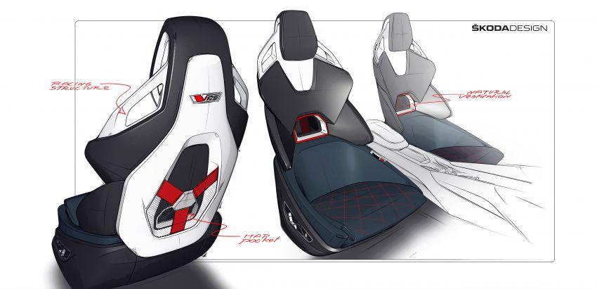Skoda Vision RS concept – 245 hp, 70 km EV range Image #866819