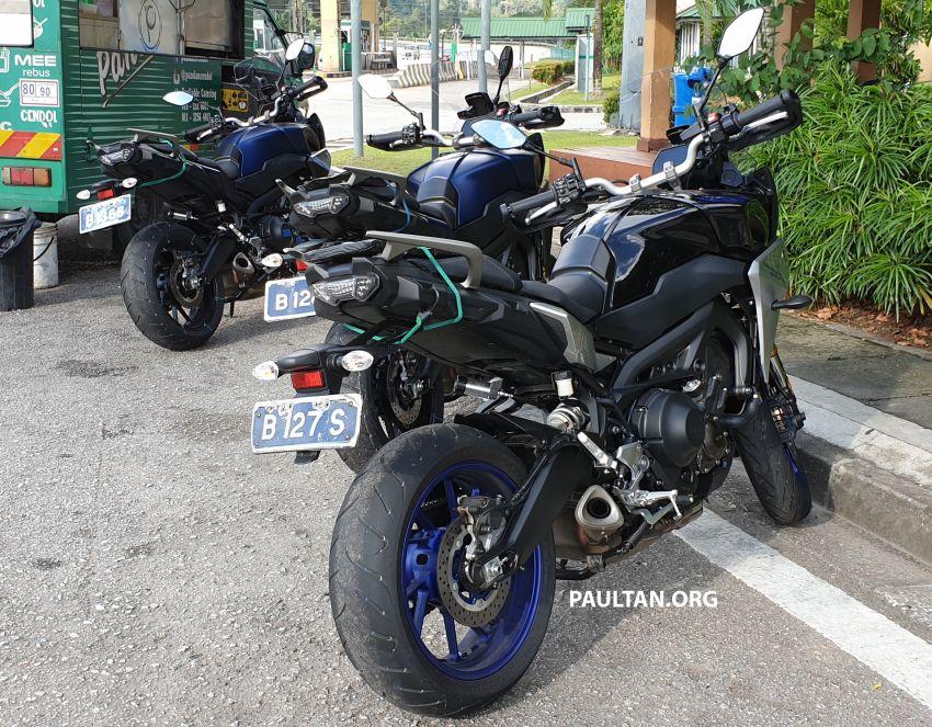 SPYSHOT: Yamaha Tracer 900 GT sedang diuji di M'sia Image #874492