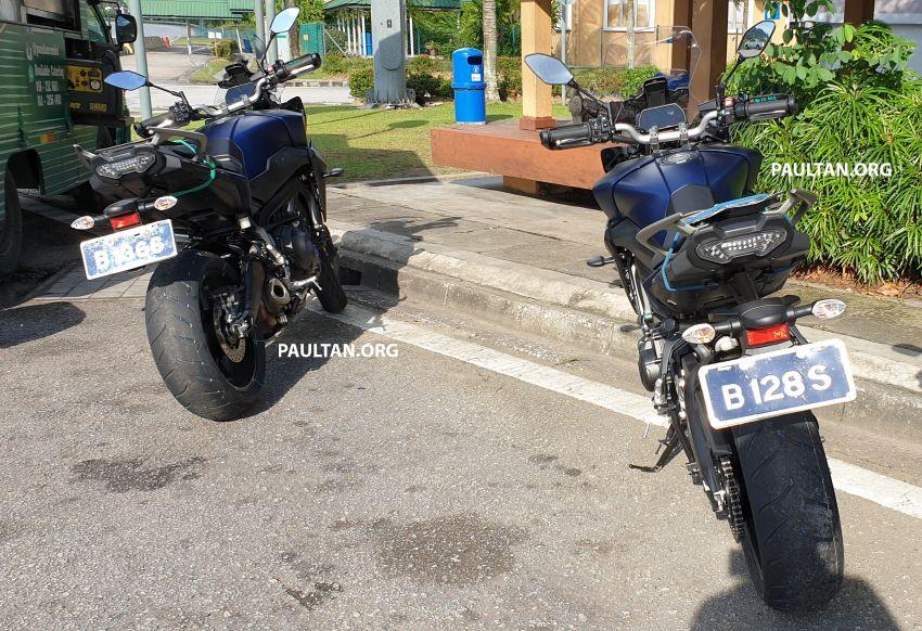SPYSHOT: Yamaha Tracer 900 GT sedang diuji di M'sia Image #874495